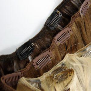 Zip&Go Extensions in schwarz, braun und blond