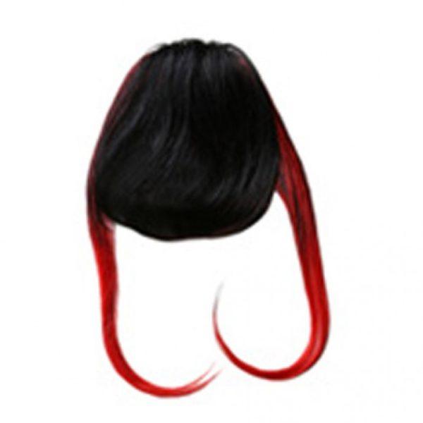 ClipIN Pony schwarz rot