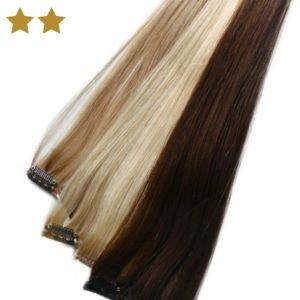 Hair Extensions in verschiedenen Farben