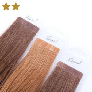 Extensions in braun und blond von Verlocke