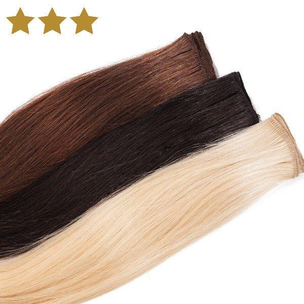Hair Extensions Premium in braun, schwarz und blond