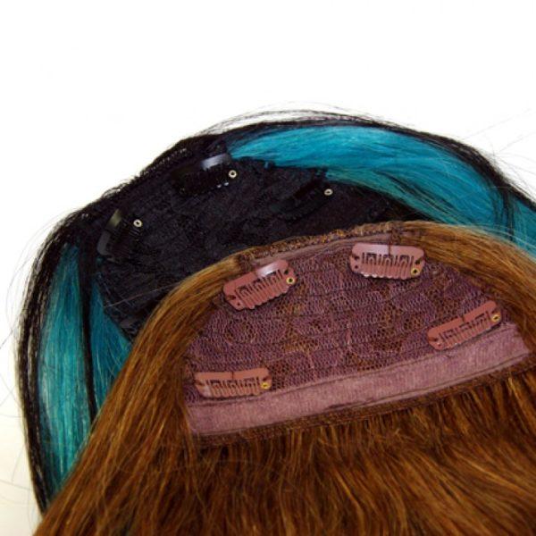 Haarteile von Verlocke in verschiedenen Farben