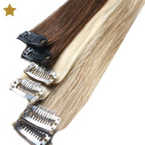 Hair Extensions in blond, braun und hellblond