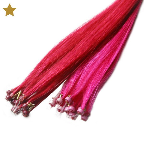 Tape IT Extensions in pink und rot