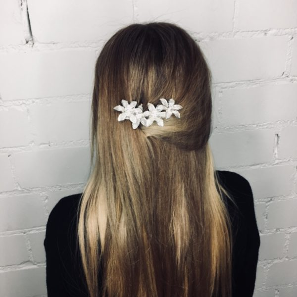 Haarnadel Flower