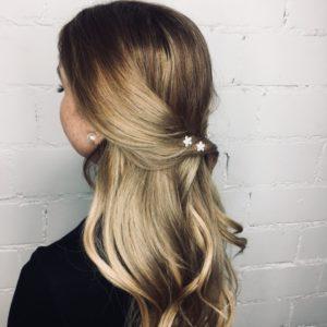 Curlie Flower 4er. Haarschmuck von Verlocke