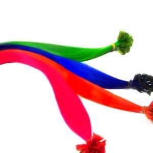 Kunsthaar bondings neon