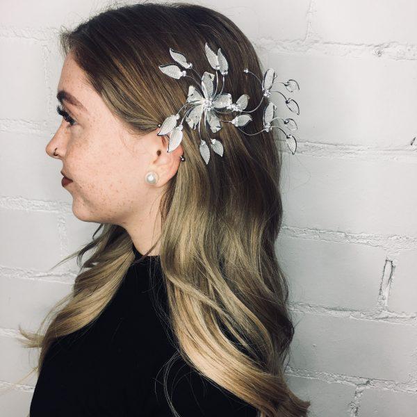 Haarsteckkamm Flower