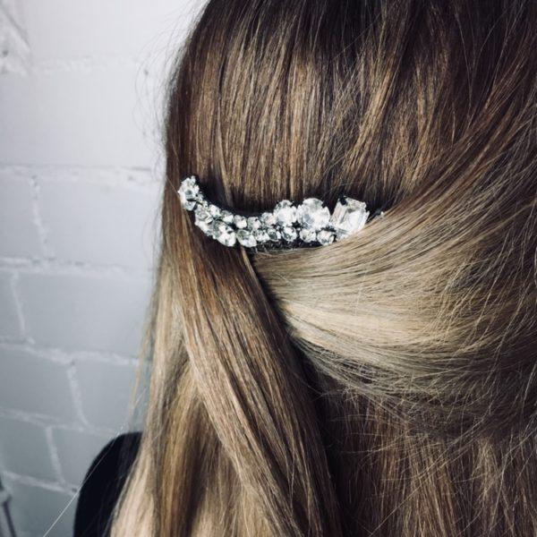 Haarsteckkamm Crystal