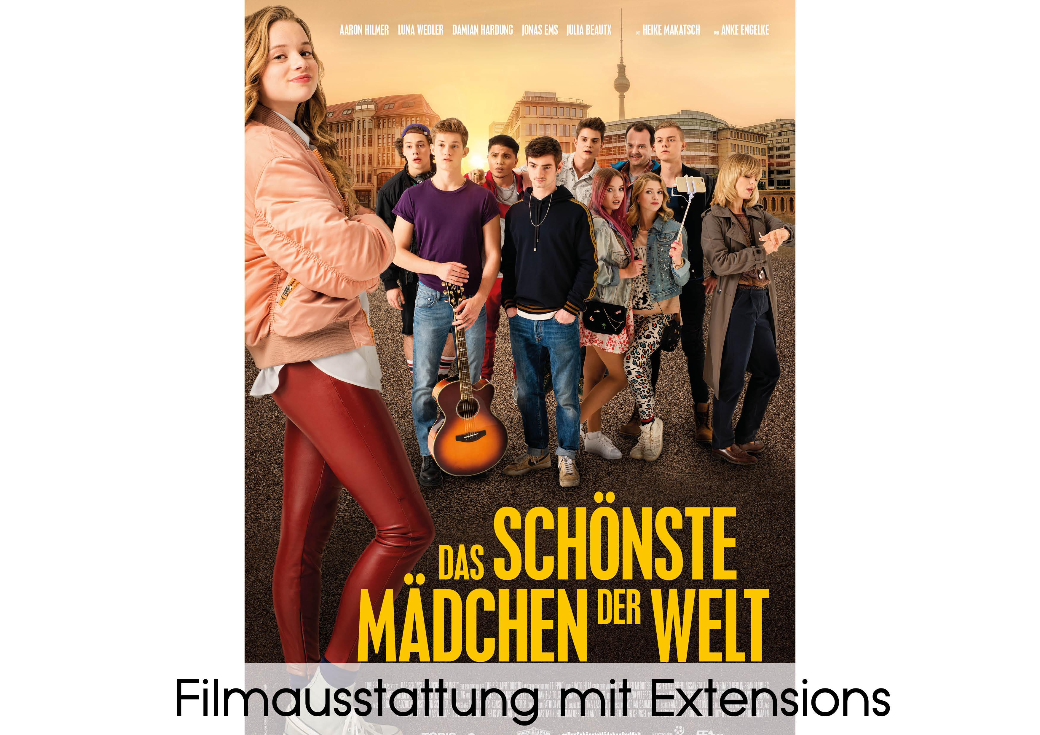 Filmausstattung mit Extensions - Sponsor von Verlocke