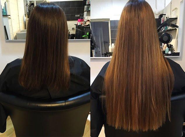 Haarverlängerung bei Verlocke