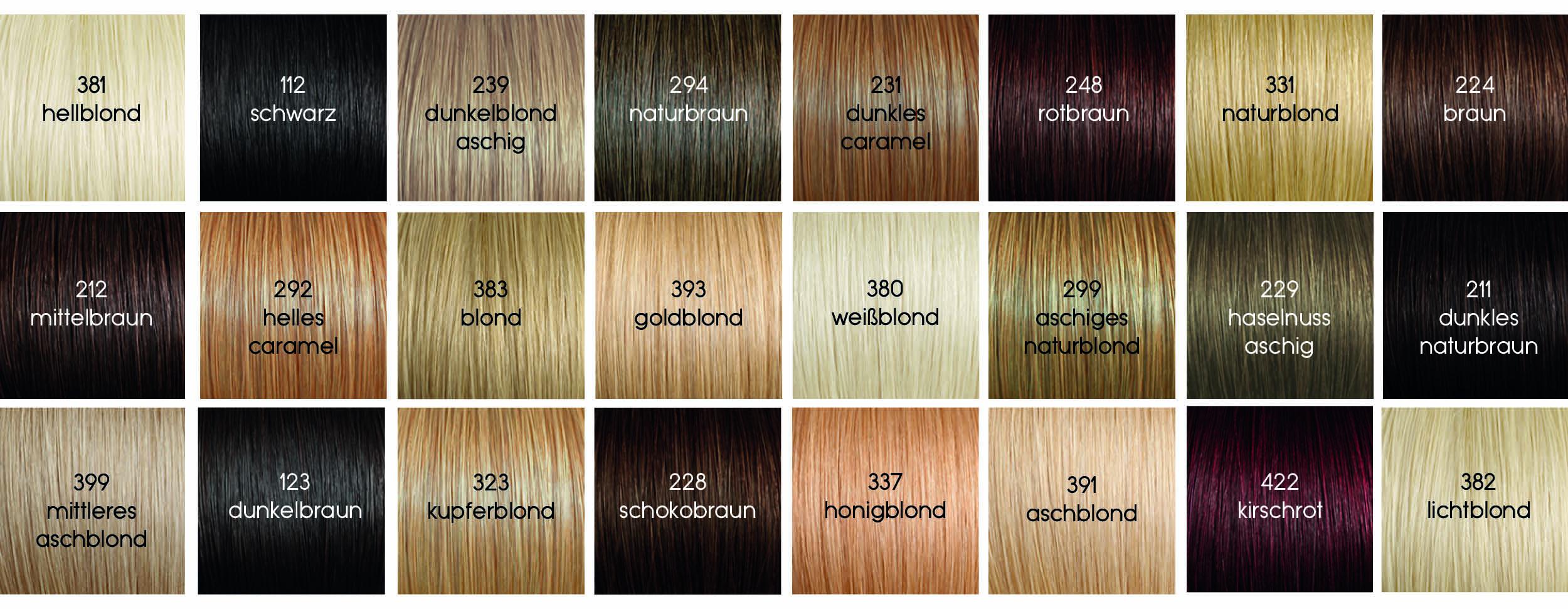 Die Richtige Farbe Für Deine Extensions Verlocke Extensions