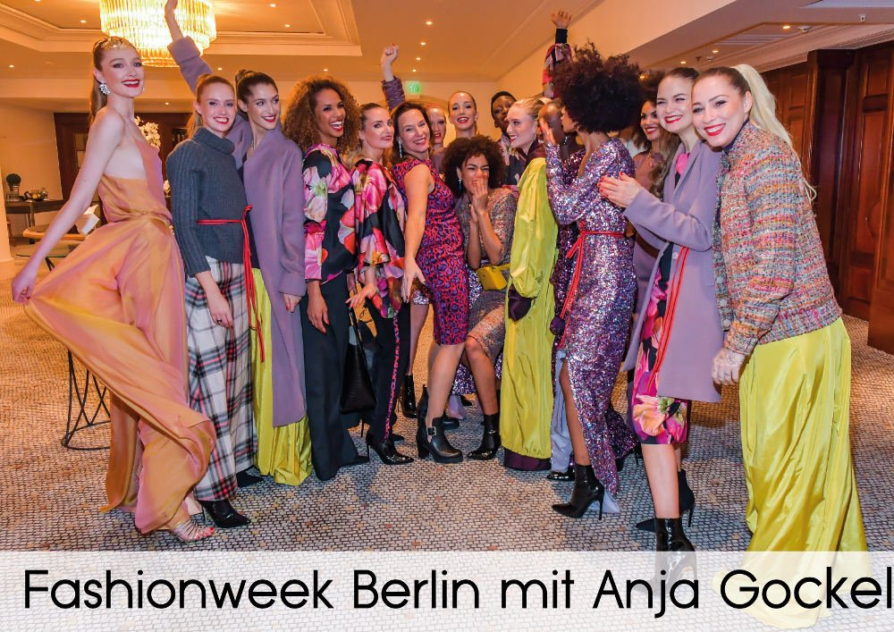 Fashionweek Berlin mit Anja Gockel - Sponsor von Verlocke