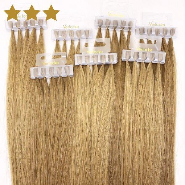 Haarverlängerung von Verlocke blond