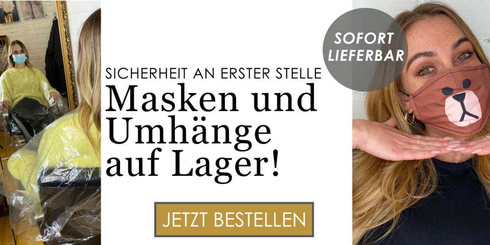 Banner Behelfsmasken von Verlocke