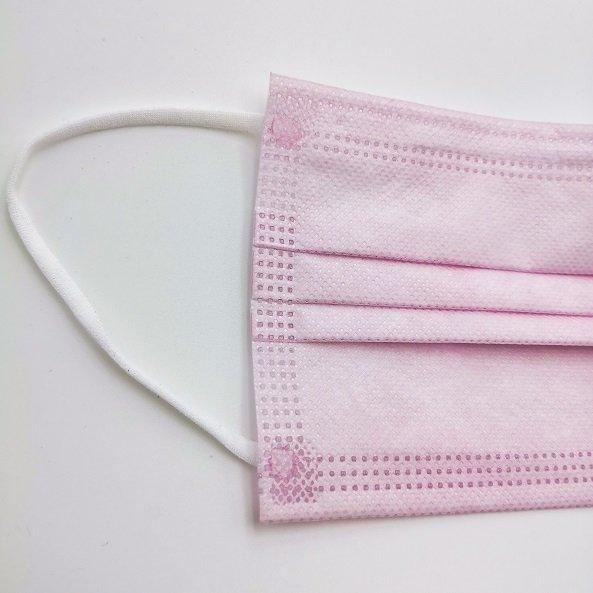 medizinische Schutzmaske rosa